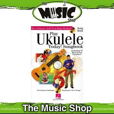 New Play Ukulele Today Songbook with CD - Uke Tuition Song Book