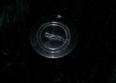 1960s Chevy Chevrolet Horn Button Thick Plastic Emblem Insert