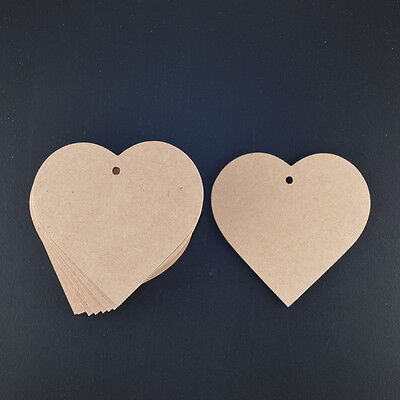 Wooden Love Hearts Craft Shapes 3Mm Mdf 80 Mm Wide X 10