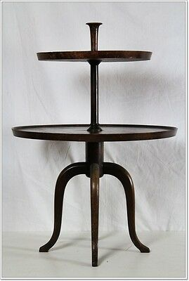Etagere Servanthe Art Deco Side Table Hardwood