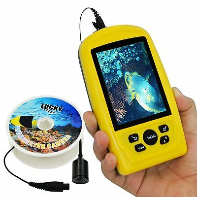 Underwater Sport Digital Fishing Color Camera Inspection IR LED Light IP68 20m