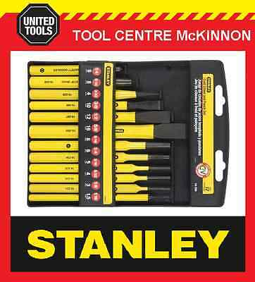 STANLEY 12pce PUNCH & COLD CHISEL SET