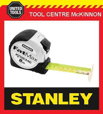 STANLEY FAT MAX XTREME 8m METRIC TAPE MEASURE (THE BEAST)