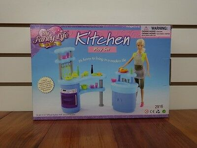 Gloria,Barbie Size Doll House Furniture/(2916) My Fancy Life Kitchen