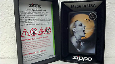 Zippo, Lighter, Screaming Female Vampiress, Model# 28435