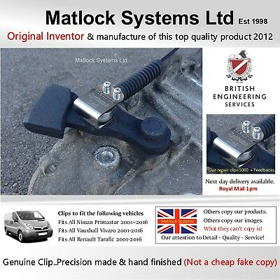 For Vauxhall Vivaro Gear Linkage Cable Repair System Clip (DIY-Only 60 Seconds)