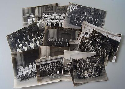 Multiple Lots Of Uk Groups Photographys 1900-50 Collectible #a010S