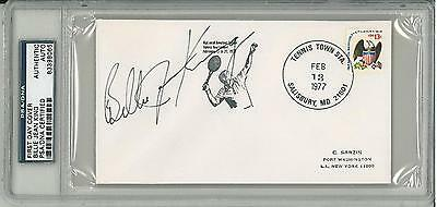 Billie Jean King Signed Authentic First Day Cover Slabbed (PSA/DNA) #83398065