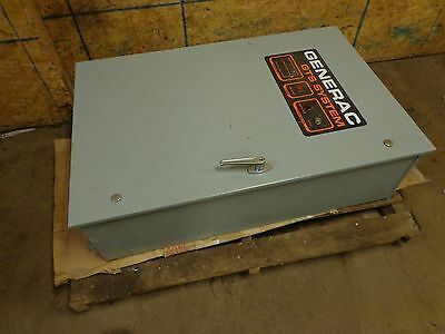 Generac GTS System Transfer Switch 92A02532-W 100 Amp 277/480 Volts 600 Volts