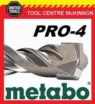 METABO 25.0 x 400 x 450mm SDS PLUS PRO-4 HAMMER DRILL BIT – MADE IN GERMANY