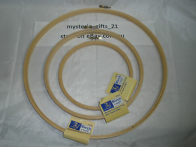 Embroidery Hoop Square Wooden Edge Screw Closure*choose Size