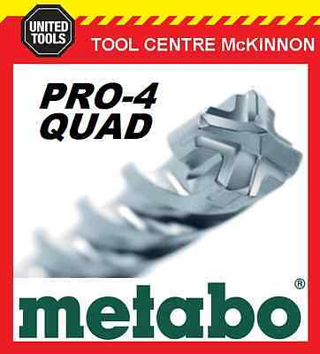 METABO 38.0 x 250 x 370mm SDS MAX PRO-4 QUAD HAMMER DRILL BIT – MADE IN GERMANY