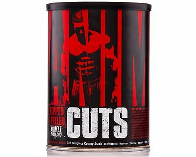Universal Nutrition - Animal Cuts - 42 packs FREE SHIPPING WORLDWIDE weight loss