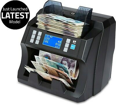 Bank Note Currency Value Counter Count Fake Detector Money Banknote Cash Machine