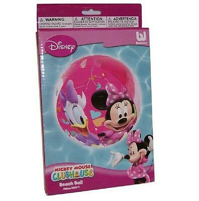 DISNEY MINNIE MOUSE INFLATABLE BEACH BALL SWIMMING POOL TOY