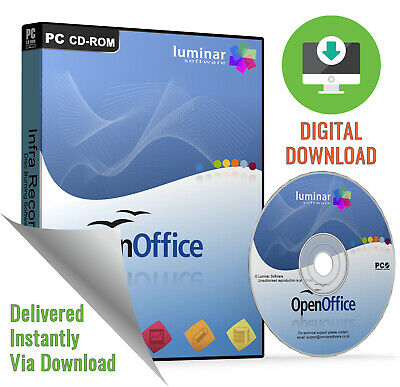 Open Office Professional 2019 - Complete Package for Microsoft (Download)