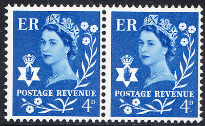 GB 1968 Northern Ireland 4d Minor Flaw Dot under 'S' of Postage Retouched XN6
