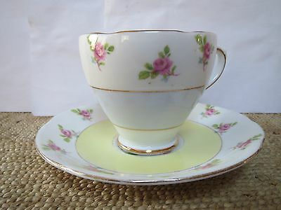Royal Standard Cup and Saucer - Pink Roses