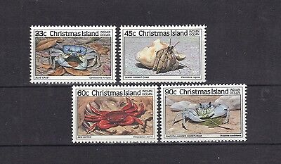 NEW STAMPS from AUSTRALIA  CHRISTMAS ISLAND  1985 CRAB  II    (MNH) lot 274