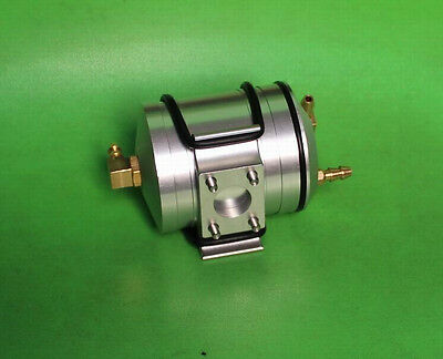 Alloy Float chamber with bracket mount for 7.5cc and 15cc Rc boat