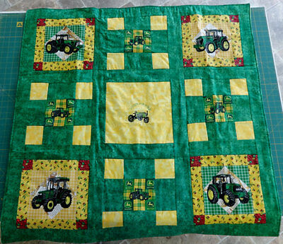 MADE TO ORDER Queen Size John Deer Quilt
