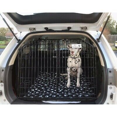 Mitsubishi Outlander Sloping Car Dog Cage Boot Travel Crate Puppy Guard