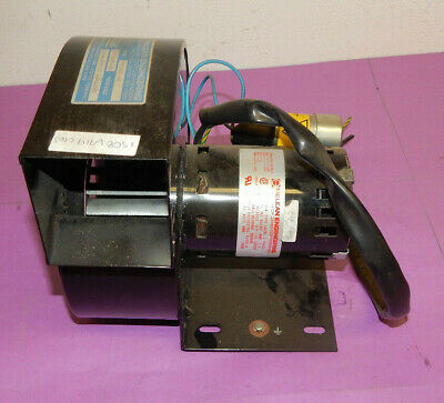 McLean Engineering PR368C-60 Blower With U62B1 Motor 1/6(.166)HP 1PH 230Volt