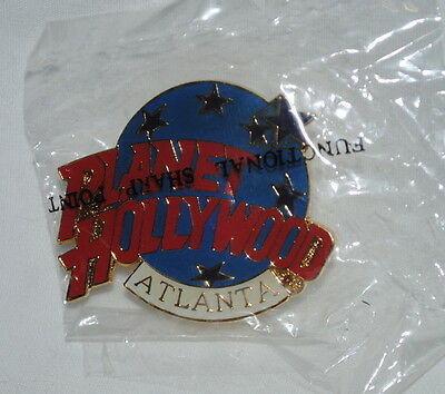 Planet Hollywood Atlanta pin, mint, unused in package