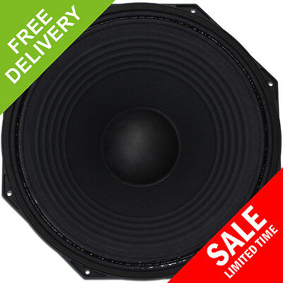 "1100W 15"" Inch Subwoofer Bass Bin Replacement Driver Cabinet Speaker"