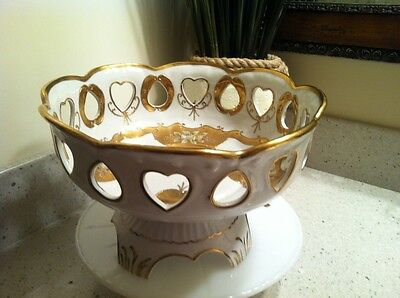 Vintage Royal Carlton, Pattern 5560, Large Pedestal Bowl, Rare,
