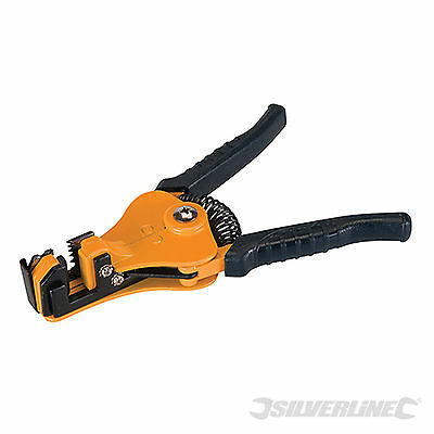 Adjustable Automatic Wire Cable Stripper Pliers Silverline (934113)