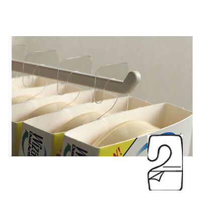 300 Hanging Tabs With Hook - Hook Hang Tabs Tags Self Stick Package Hangers