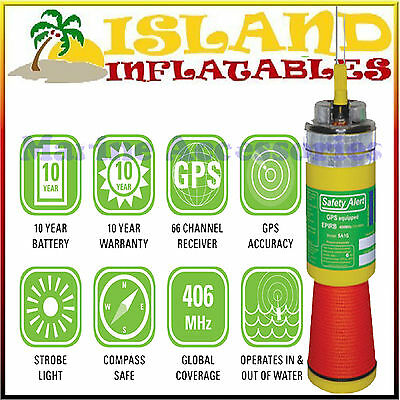 KTI SAFETY ALERT SA1G with GPS 406MHz EPIRB Marine Boat Safety Beacon FREE POST
