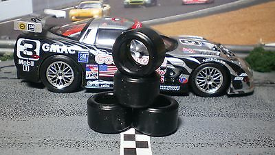 1/32 URETHANE SLOT CAR TIRES 2pr PGT-20126LM fit Fly Chevy Corvette C5R