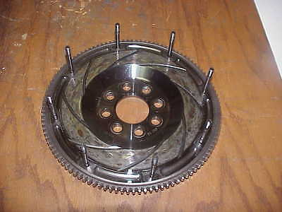 "Quartermaster 8 Leg 110 Tooth Flywheel for 7-1/4"" Triple Disc Clutch w ARP Studs"