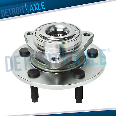 Brand New Front Wheel Hub and Bearing Assembly NO ABS Dodge 1500 Truck