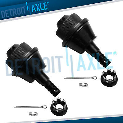Pair: 2 NEW Front Driver & Passenger Lower Suspension Ball Joint Set Kit Chevy