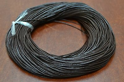 100 Yards Brown Leather Beading Cord String 1Mm #F-55J