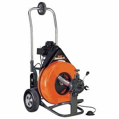 General Pipe Cleaners 52008 Speedrooter Drain Cleaning Machine