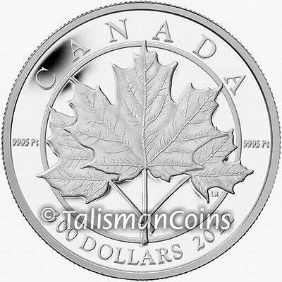 Canada 2012 Maple Leaf Forever Sugar Maple $300 Pure Platinum Proof