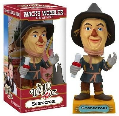 "Funko SCARECROW 6"" WACKY WOBBLER BOBBLEHEAD from Wizard of Oz DISCONTINUED"