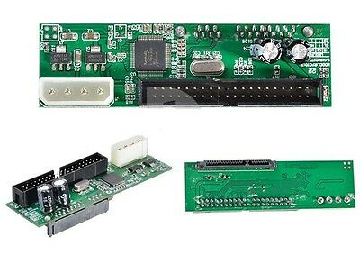 """Convert SATA to PATA IDE Drive Converter Adapter for 2.5"""" and 3.5"""" Drives"""