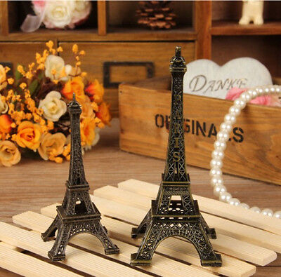 New Decoative Eiffel Tower Metallic La Tour Eiffel France Souvenir Paris 5.91""