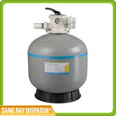 "SWIMMING POOL SAND FILTER-25 INCH-25""-FIBERGLASS-FIBREGLASS-40mm VALVE"