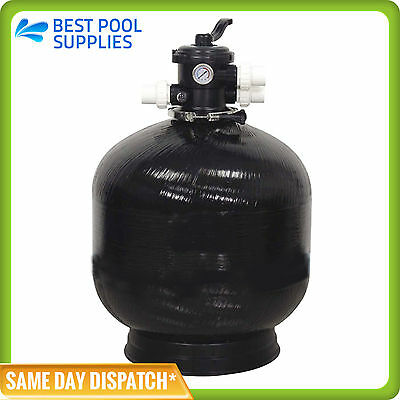"SWIMMING POOL SAND FILTER-28 INCH-28""-FIBERGLASS-FIBREGLASS-50mm VALVE"
