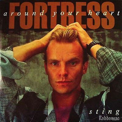 45 w/PS - Sting - Fortress Around Your Heart / Consider Me Gone