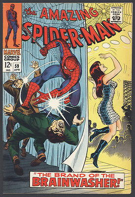Amazing Spider-Man (1963, First Series) #59 1st Mary Jane Cover - Priced to Sell