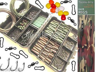 Fishing Tackle Box Quick Links Carp Weights Clips Hooks pop up corn Hair rigs