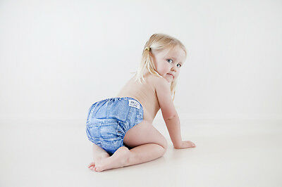 Toddler Modern Cloth Nappy Cutie Bum Large Size  Bedwetters & Special Needs kids