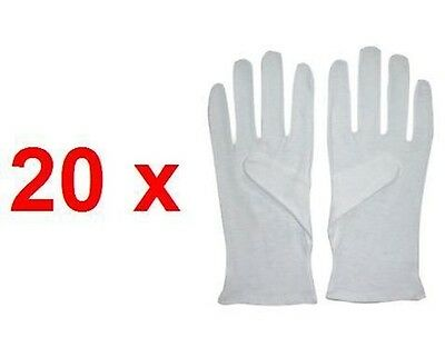 20 Pairs Boxing Cotton Inners Gloves Hand Protector Wraps Punch Sweat Liner Kick